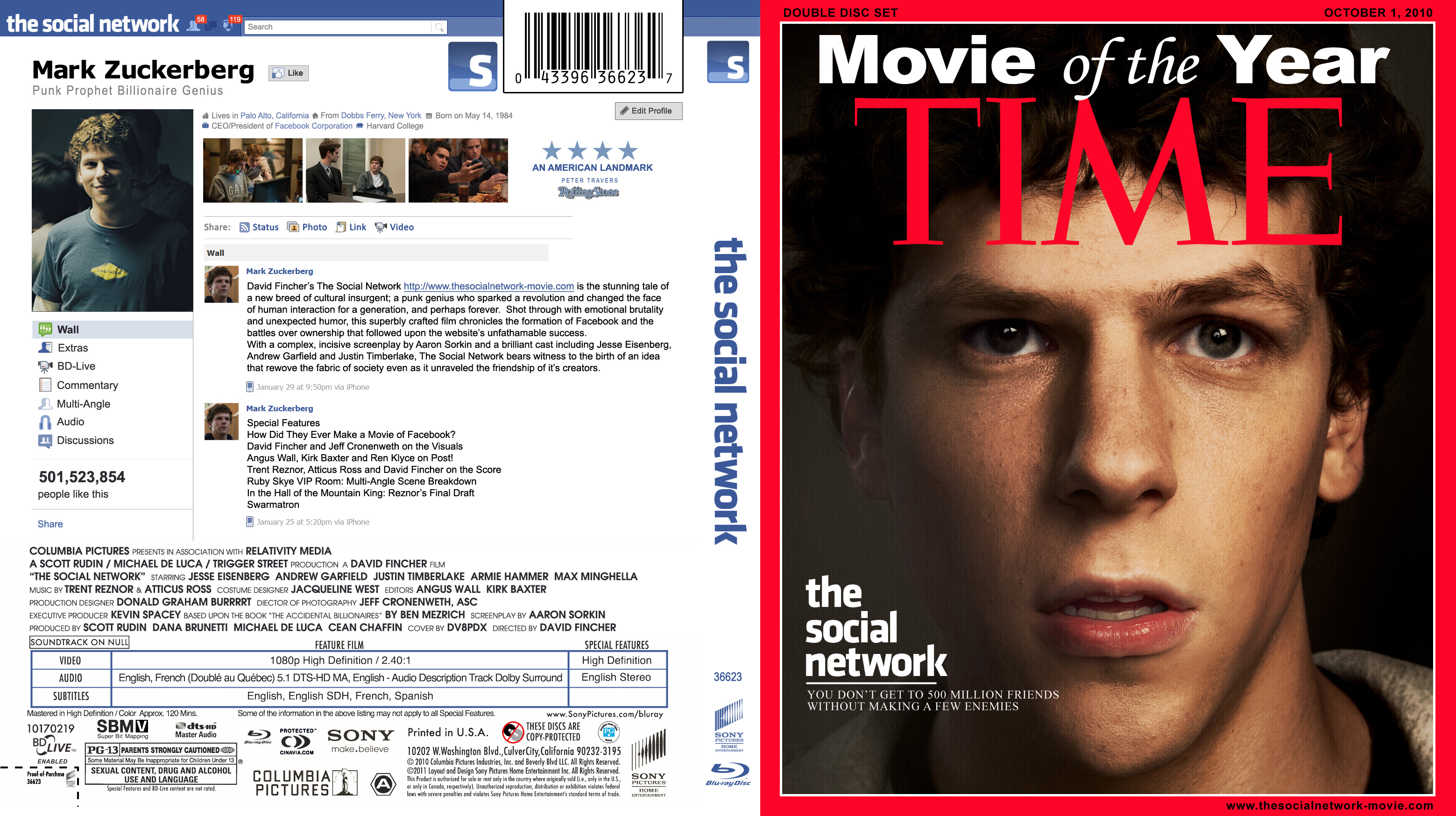 The Social Network Movie Cover | www.imgkid.com - The ...